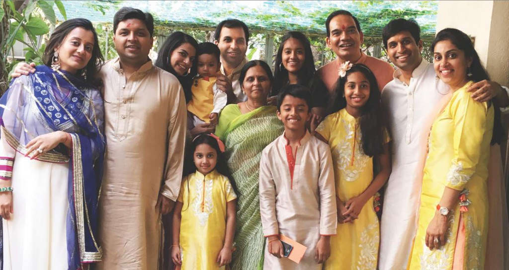 Mr. Prakash Jain with Family