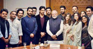 Bollywood Stars With PM Modi